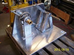 Testmaskin för droppfri bränslekoppling
