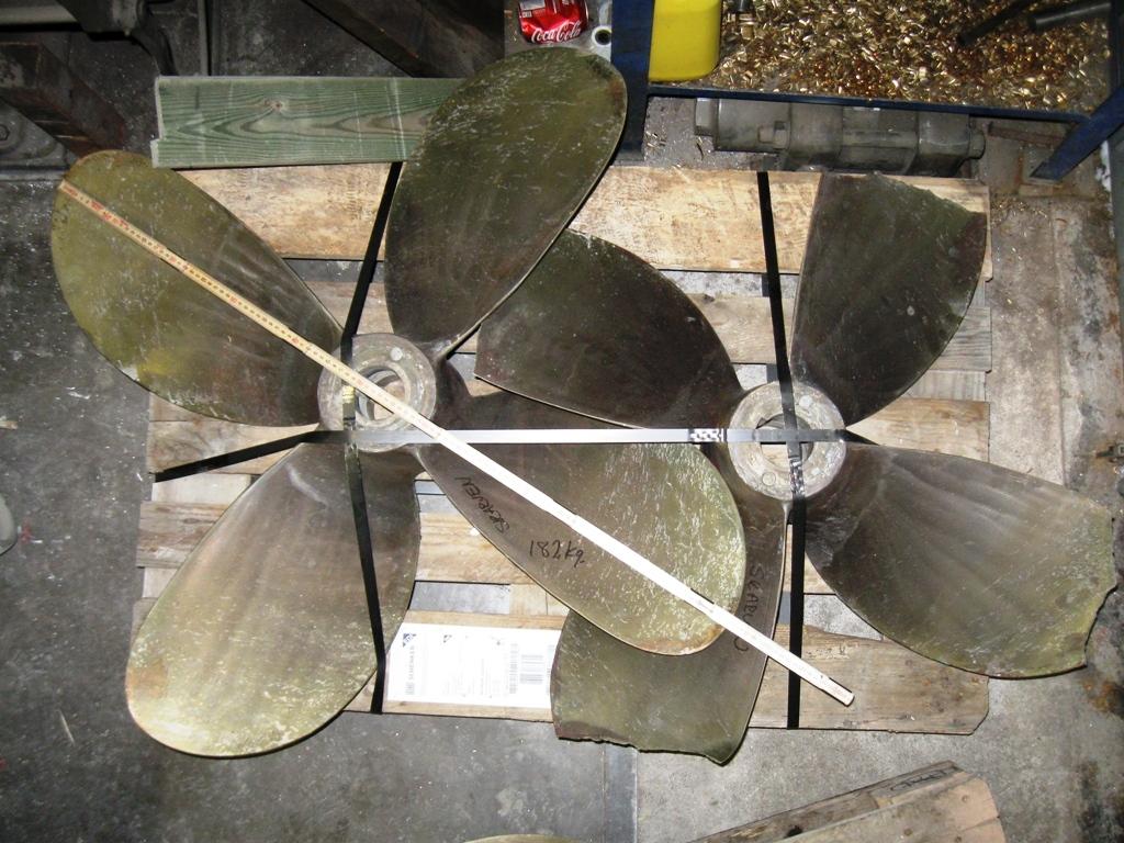 Skadad propeller